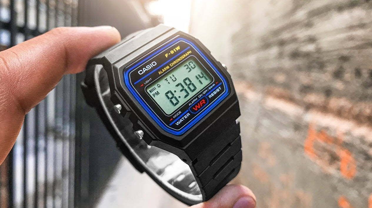 Casio F-91w Watch